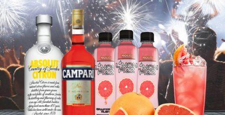 "L'monfizz Cocktail No. 2 – ""Pink Russian"" - Magalies Citrus"