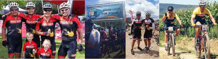 Magalies represented at 2015 FNB Wines2whales mountain bike stage race
